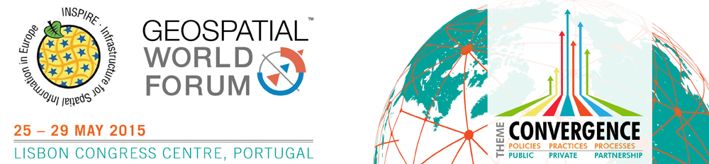 Geospatial World Forum 2015 and INSPIRE 2015 conferences will be held together