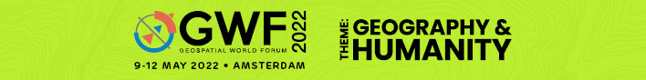 Geospatial World Forum latest event banner
