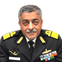 Vice Admiral Vinay Badhwar, Chief Hydrographer of India,,