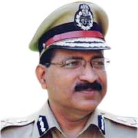 M. Mahendar Reddy, IPS, Commissioner of Police Hyderabad, India