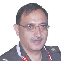 Major General Girish Kumar, Surveyor General, Survey of India, India