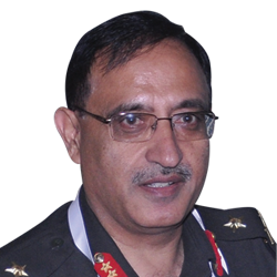 Lt. Gen. Girish Kumar, Surveyor General, Survey of India,